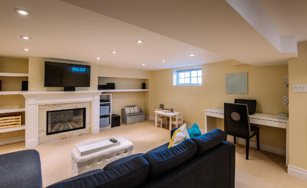 Basement Renovations by Contract Pros Builders